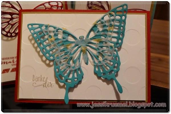 SAB 2015, Frühlingsmini, Stampin' Up!, Schmetterlingsgruß, BigShot, Danke dir, Workshop