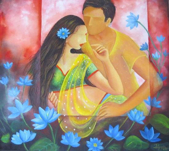 Samarpan by Priyanka Goswami (part of her portfolio on www.indiaart.com)