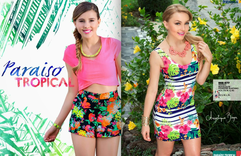 Catalogo look Terra ropa : primavera verano