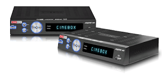Atualizacao do receptor Cinebox Legend HD Duo