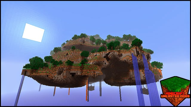 Better World Generation 4 mod isla en el cielo