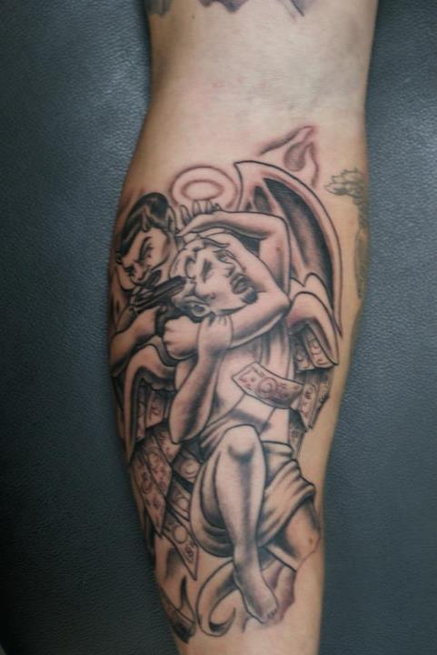 Boog Angel Tattoo Designs