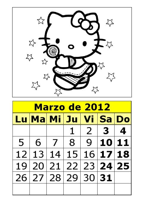 u de g calendario 2012