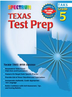 SPECTRUM TEXAS TEST PREP GR 5, Educational Toys