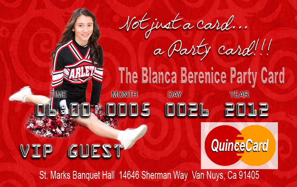 quinceañera invitations cheerleader quince invitation