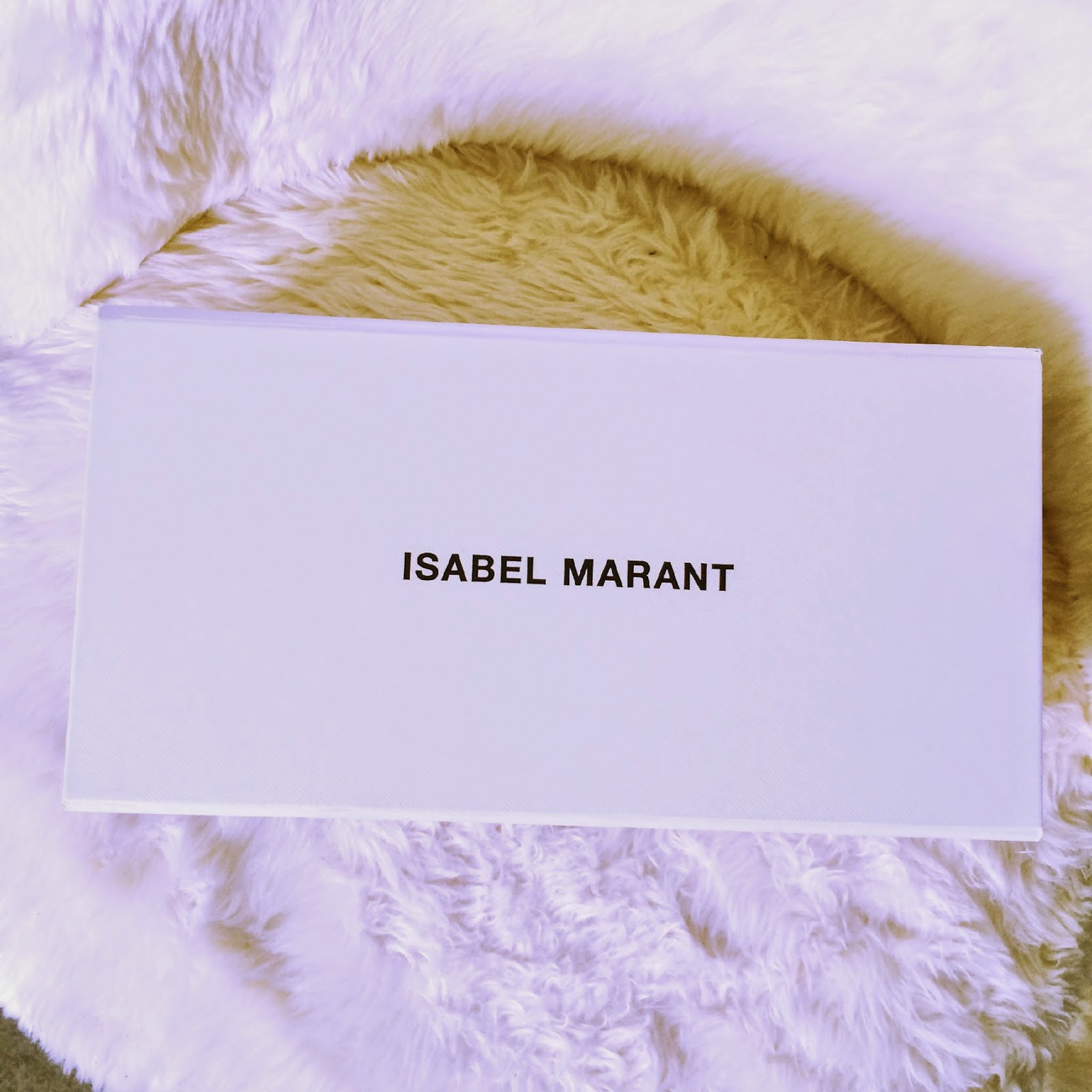 boite a chaussure Isabel Marant