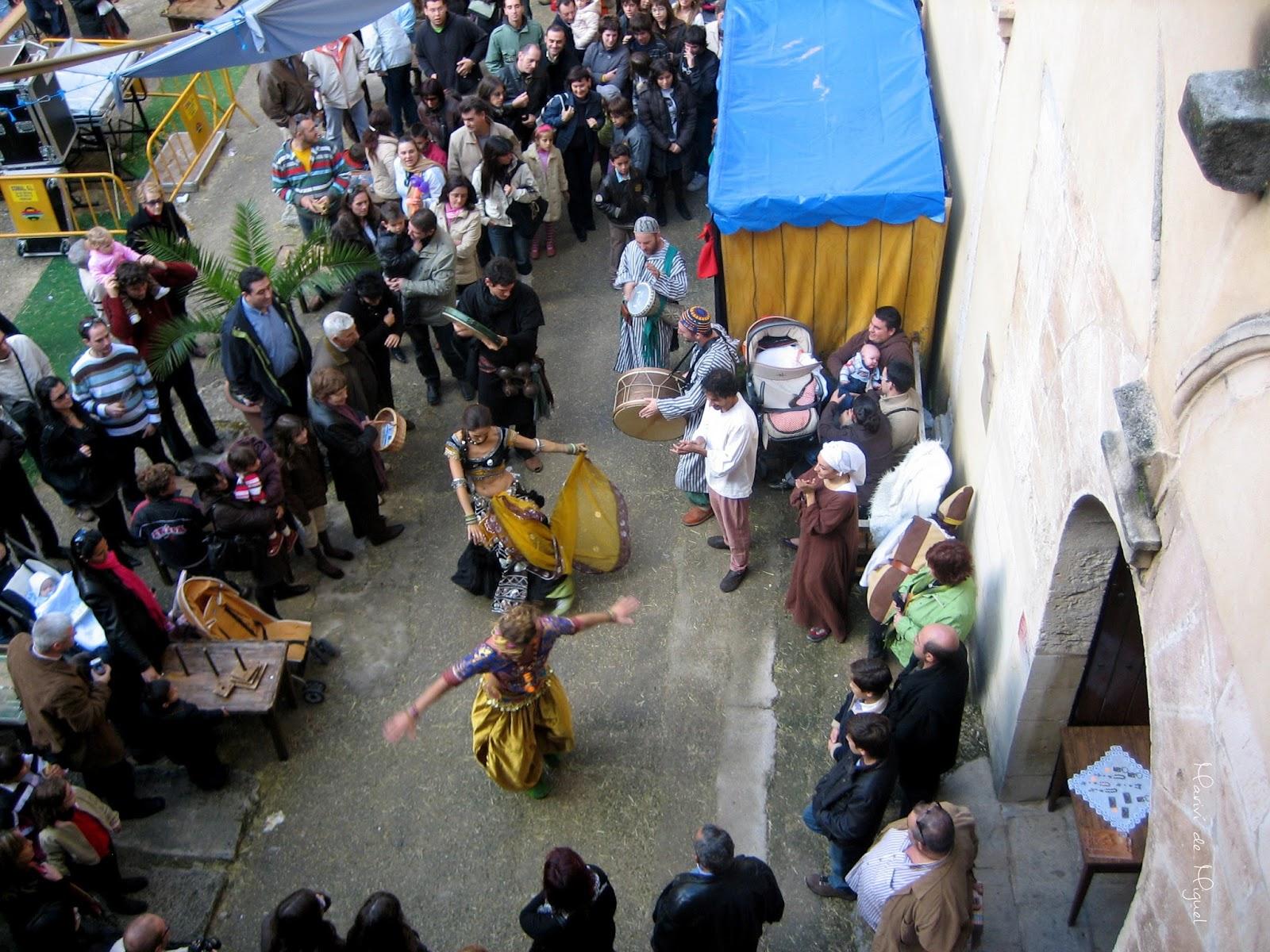 Fira de Tots Sants - danzas