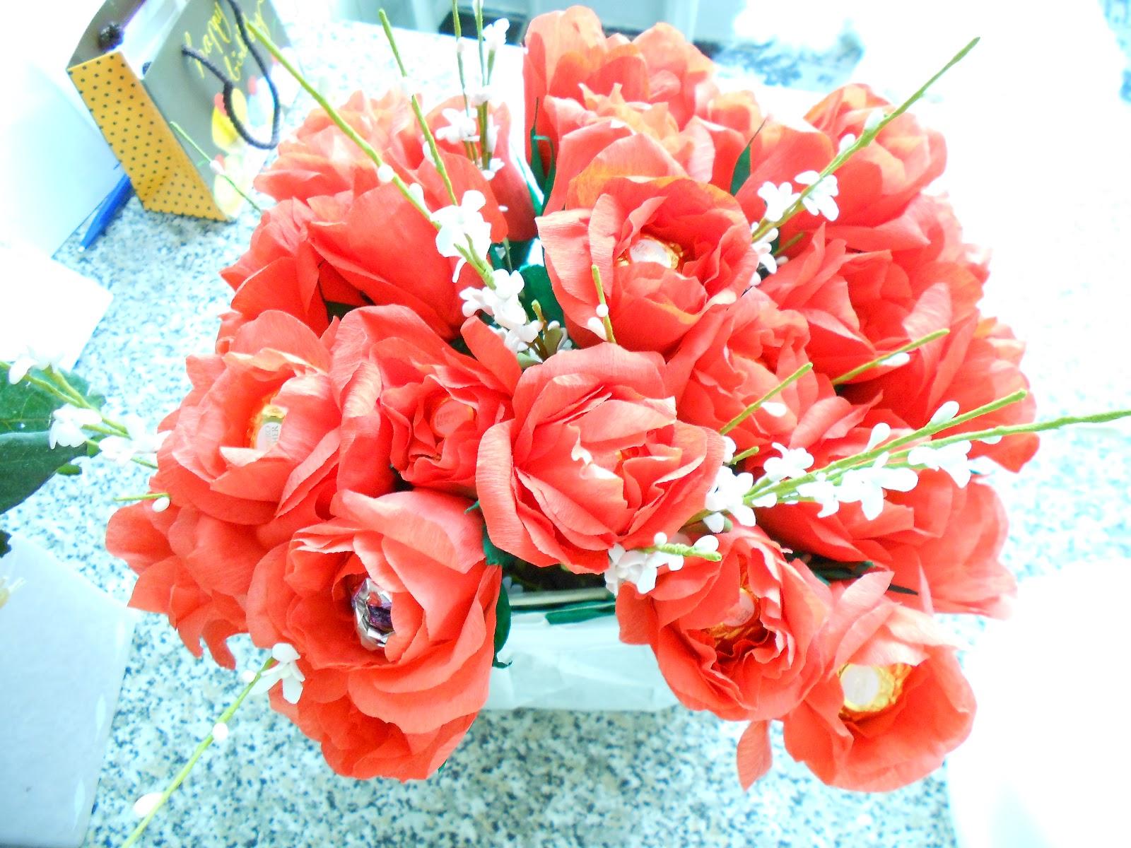 Как сделать цветок для мамы 62
