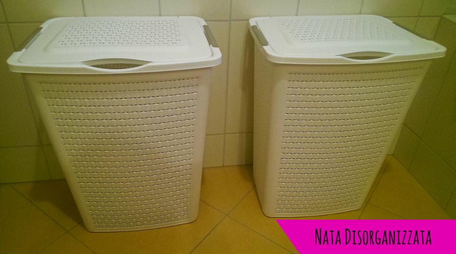 Nata disorganizzata: come organizzare: la lavanderia