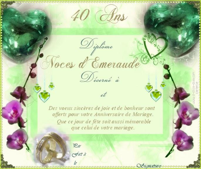 Extrêmement Texte de faire part d'anniversaire de mariage gratuit – Meilleur  OC53