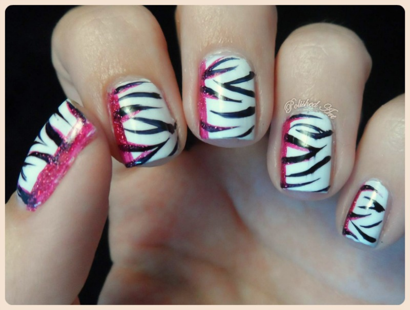 black white nail art challenge 6 recreate favourite manicure animal