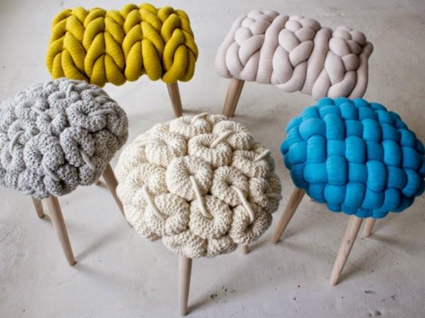 Kolorowe stołki do nowoczesnego wnętrza