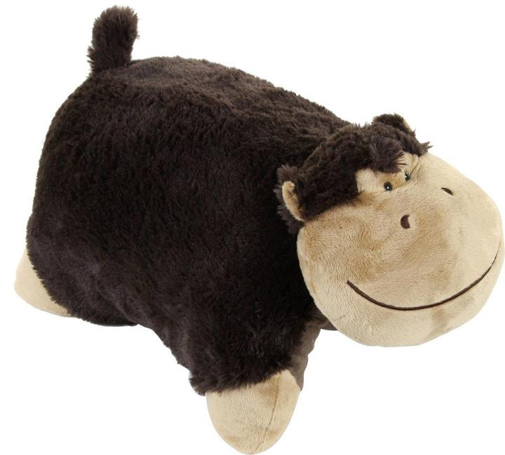 Adventures Of A Yorkshire Mum: Silly Monkey Pillow Pet