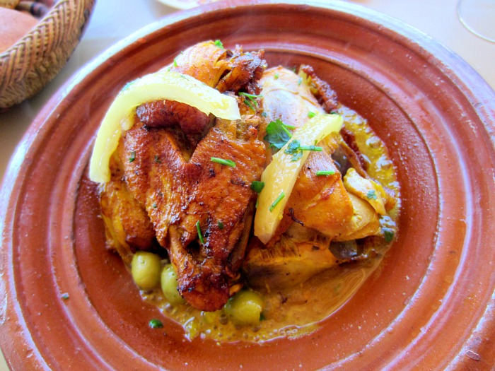 Moroccan Chicken Tagine With Olives And Preserved Lemons Recipe ...