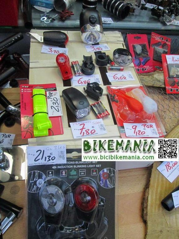 Focos para tu bicicleta