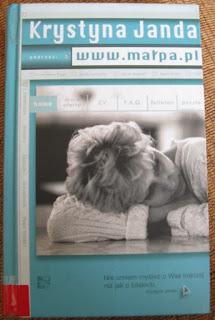 Krystyna Janda www.małpa.pl okładka książki