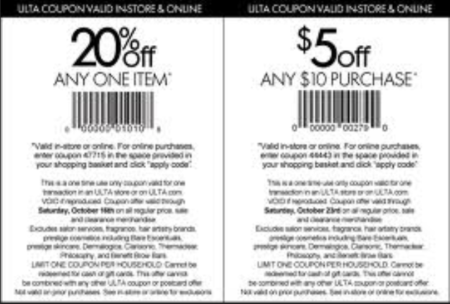 Coupon code for ulta