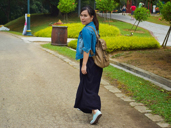 Outfit Diary : Let's go to park | Calvary Convention Centre (CCC),Bukit Jalil