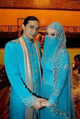 busana pengantin muslim adat arab