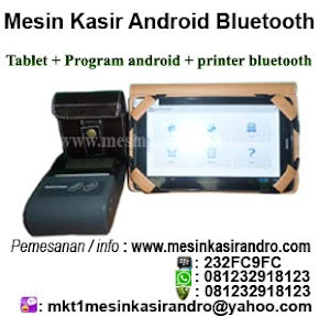 Mesin kasir android printer bluetooth