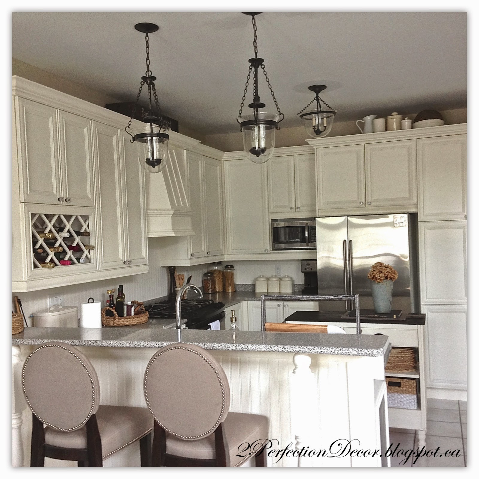 Pottery Barn Kitchen 2perfection Decor Painted French Country Kitchen Reveal