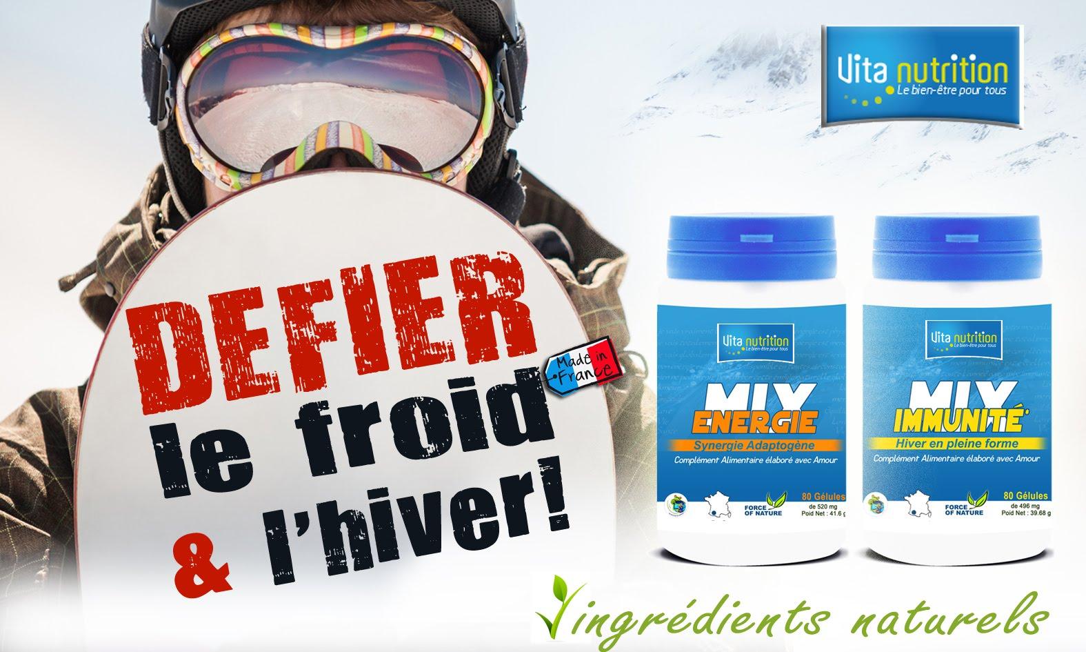 Défiez l'Hiver et le froid