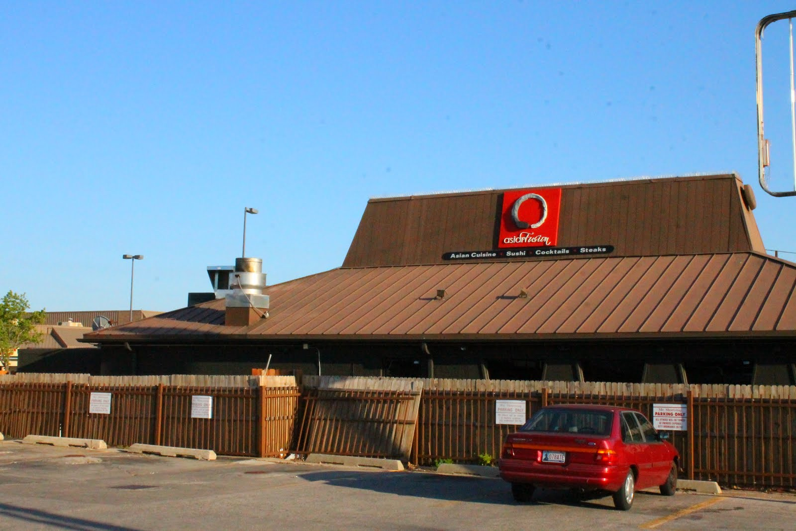 Used to be a pizza hut o asian fusion in norman ok for Asian cuisine norman oklahoma