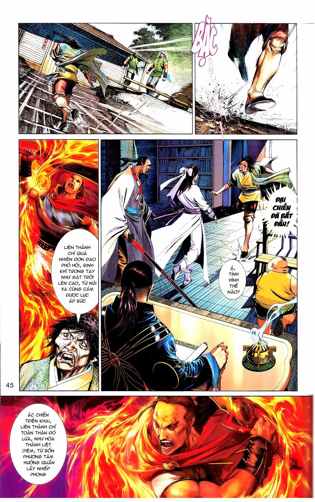 Phong Vân chap 666 Trang 45 - Mangak.info