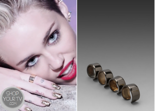 We Can't Stop: Miley's Gold Rings