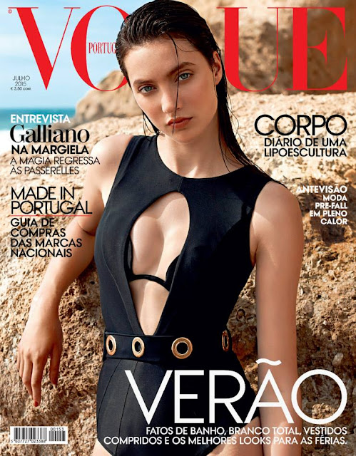 Model @ Matilda Lowther by Frederico Martins for Vogue Portugal, July 2015