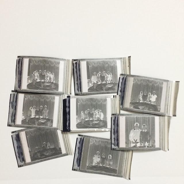 FP3000B black and white instant film negatives