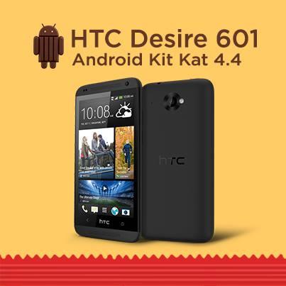 Aggiornamento Android Kitkat per Htc 601 iniziato