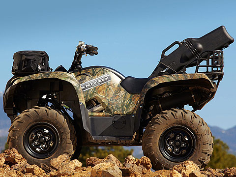 2013 Yamaha Grizzly 550 FI Auto 4x4 EPS ATV pictures. 480x360 pixels