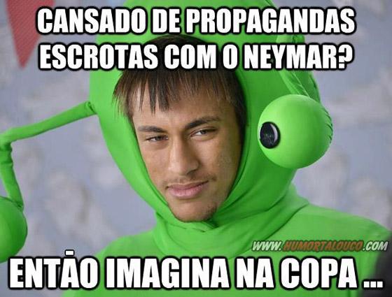 Imagina na copa do Mundo 2012 Brasil - Imagens Engraçadas - Humor - Propagandas Neymar
