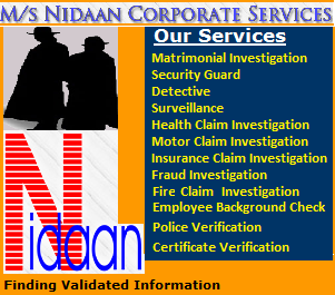 Nidaan Corporate Services | Finding Validated Information