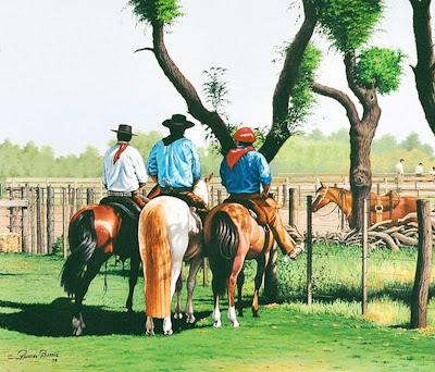 caballos-pintura