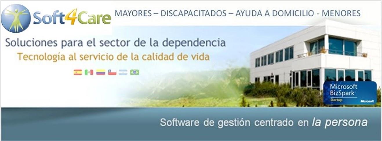 Soft4Care - Software de Gestión para Residencias, Centros y Ayuda a Domicilio
