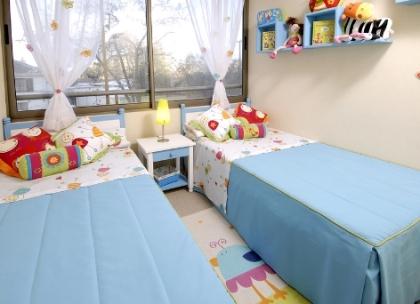 Decoraciones y afinidades dise a y decora modernas - Habitaciones infantiles compartidas ...