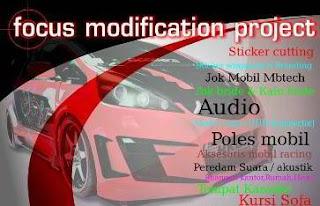 Lowongan Kerja Focus Modification Project Makassar