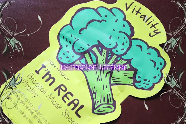 Tonymoly mask- Broccoli