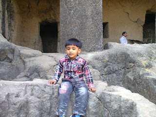 Aashi at Elephanta