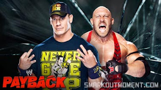 WWE Payback 2013 WWE Championship Ambulance Match John Cena vs Ryback