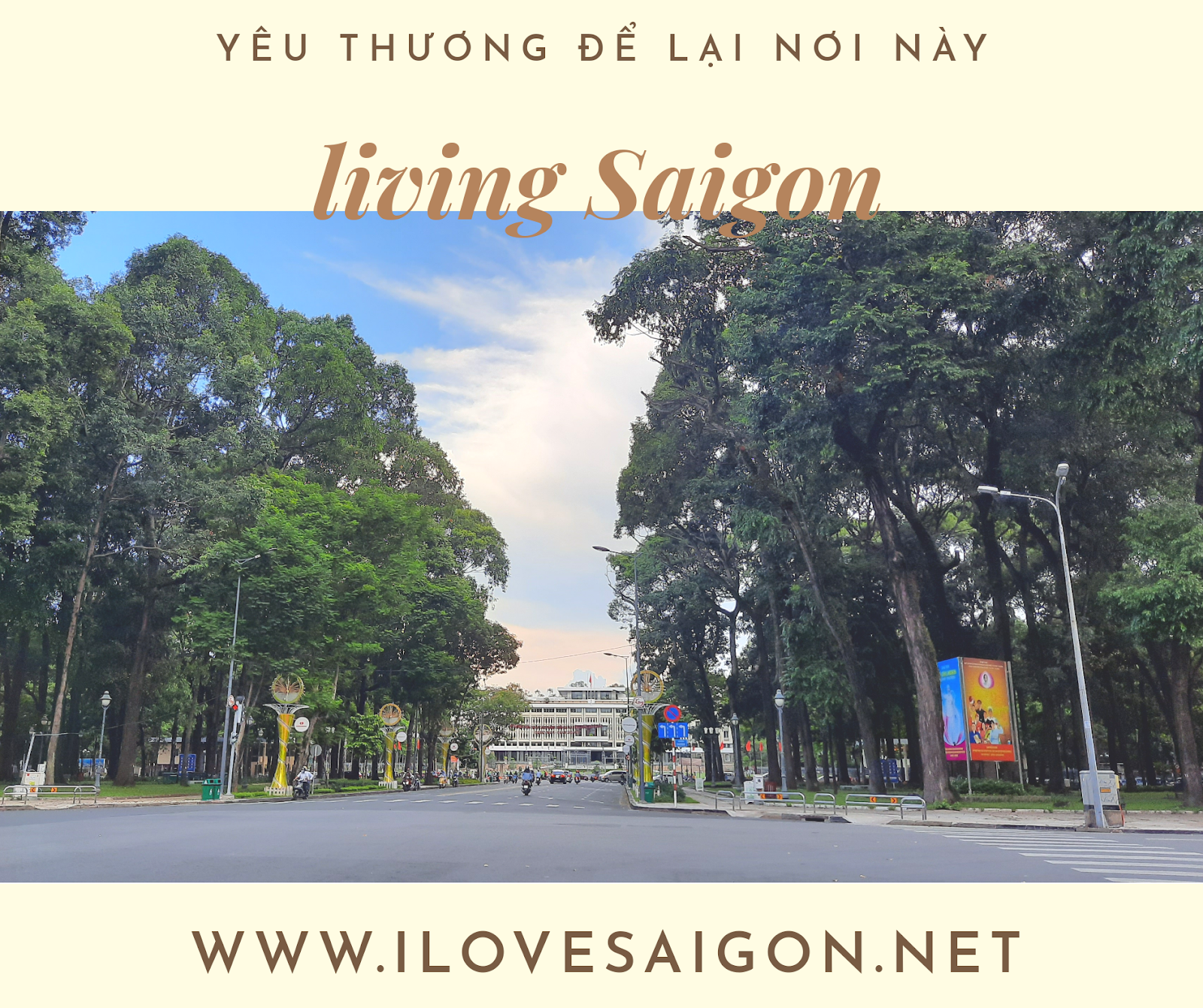 Living in Saigon