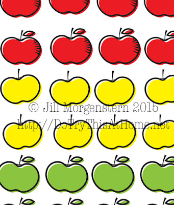 graphic relating to Apple Pattern Printable named Apples and Honey - Rosh Hashanah Printables Do Check out This at