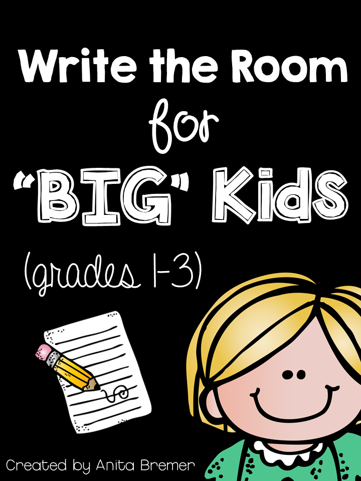 Write the Room {Grades 1-3}