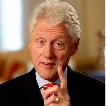 Una supuesta imagen de Bill Clinton desnudo con su