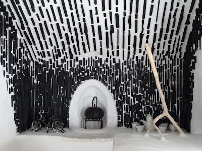 anna ding ding terunobu fujimori interiors. Black Bedroom Furniture Sets. Home Design Ideas