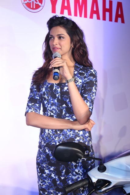 Deepika Padukone Yamaha 2013 event