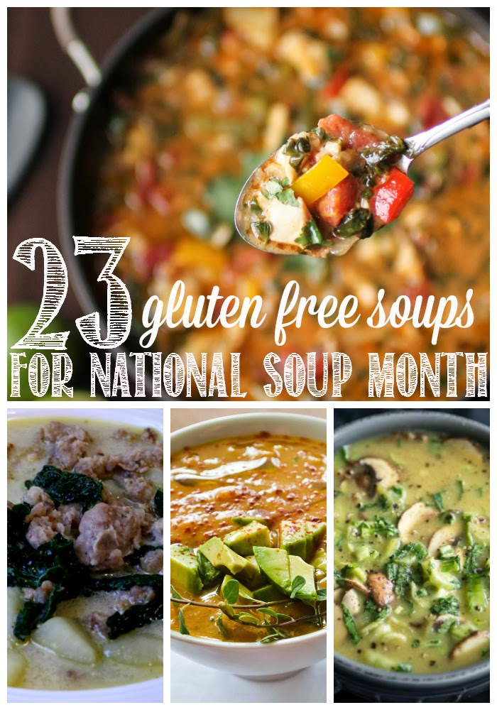 23 Gluten Free Soups for National Soup Month | Anyonita-nibbles.co.uk