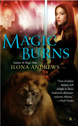 Book Review: Magic Burns (Kate Daniels, Book 2), by Ilona Andrews